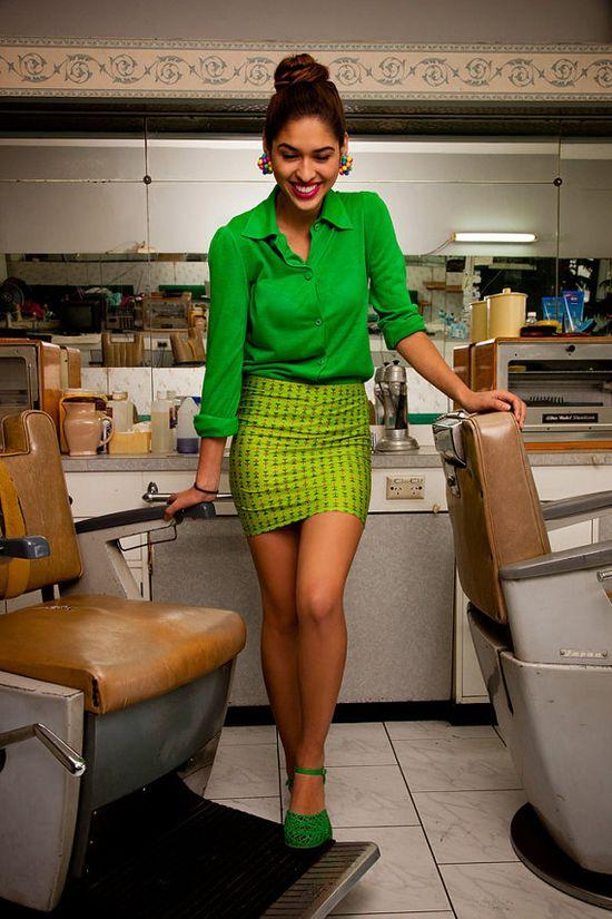 Womens High Waisted Mini Skirt
