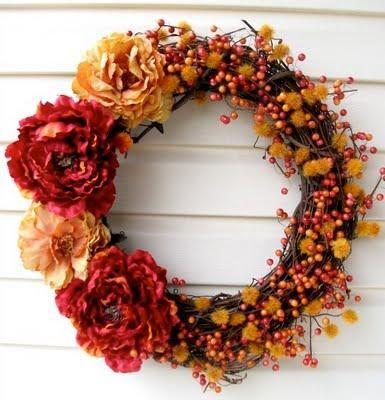 DIY Home Decor DIY Fall Crafts : DIY Welcome Fall Wreath