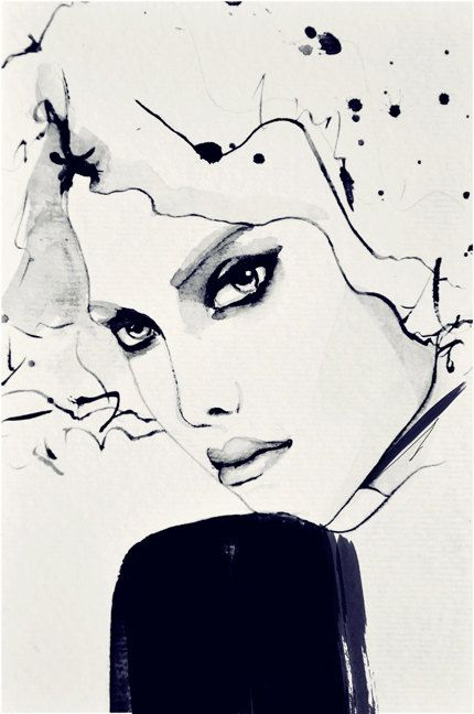 Geneva  Fashion Illustration Art Print