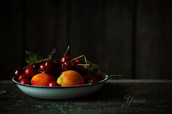 Cherry and nectarine