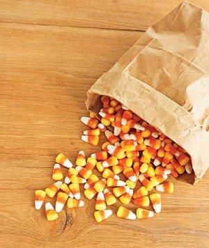 Chop leftover chocolate candy or candy corn and use in place of chocolate chips for cookie recipes.