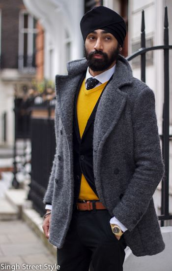 Well played, love that pop of yellow. #menswear #streetstyle #streetfashion