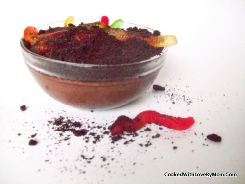 Worms in Dirt Pudding Recipe – Cooked with love, Mom