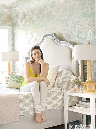 Inside Erinn Valencich's tranquil Beverly Hills bedroom.