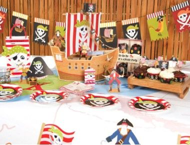 First Birthday Party Ideas For Boys - pirate