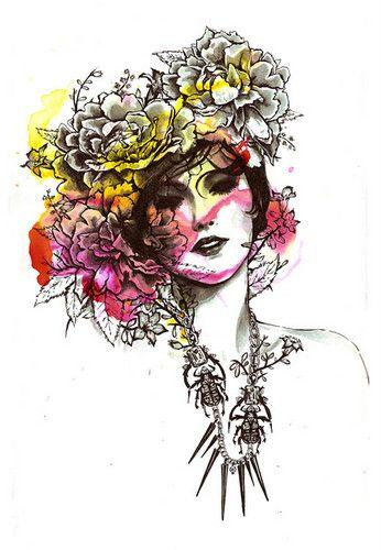 Nicole Guice #fashion #illustration