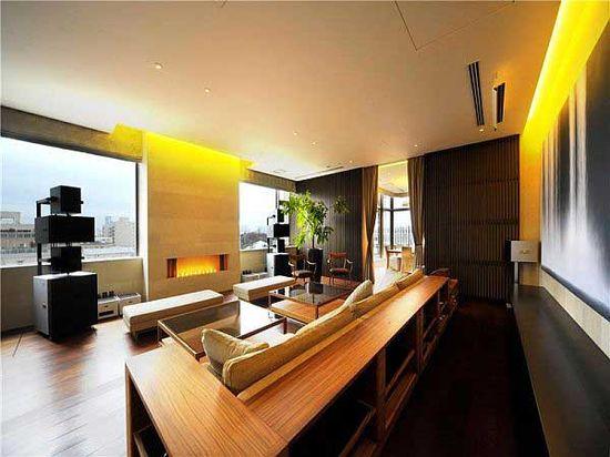 Cozy Living Room Modern Apartment Design