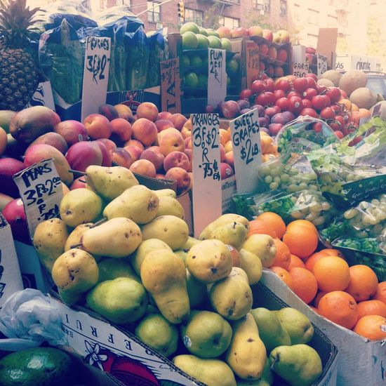 Fresh Fruits in NYC