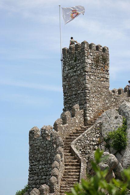 Moorish Castle,Sintra, Portugal