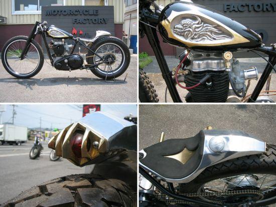 AjitoBSA - Pipeburn - Purveyors of Classic Motorcycles, Cafe Racers & Custom motorbikes