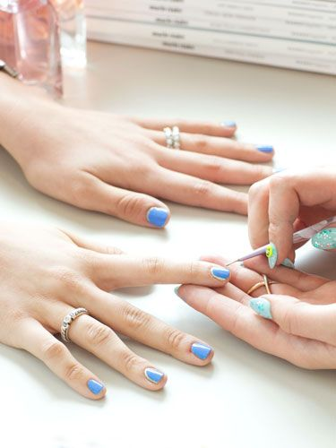Nail Art Tips: The Office-Chic Mani, Step 3