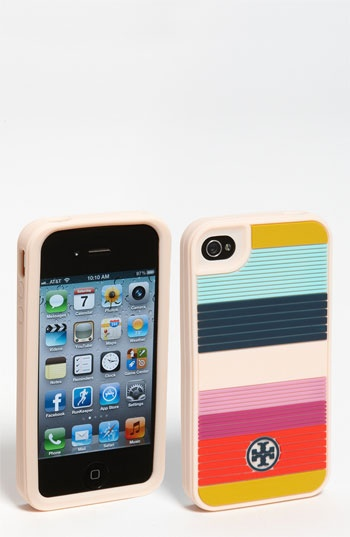 Tory Burch iPhone 4 Case - Silicone