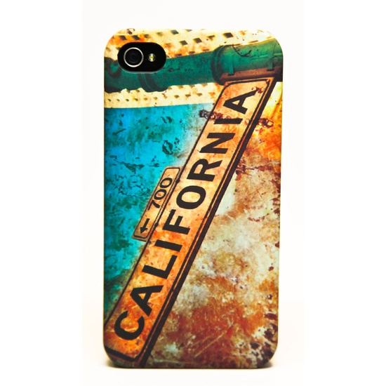 CA Street Sign iPhone case