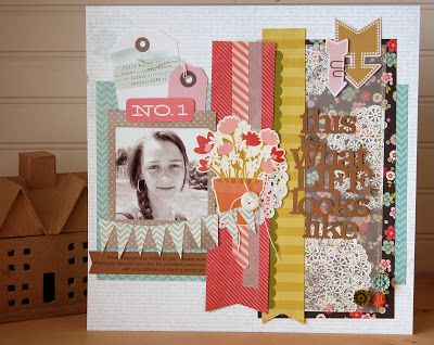 #papercraft #scrapbook #layout    Memories Made #32 Scrapbooking Process Video: This is What Life Looks Like (long titles) - In-site-full
