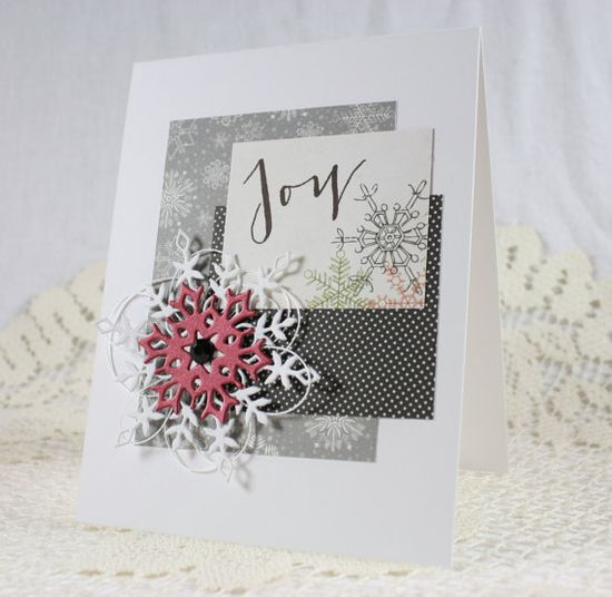 Handmade Holiday  Christmas Greeting Card by