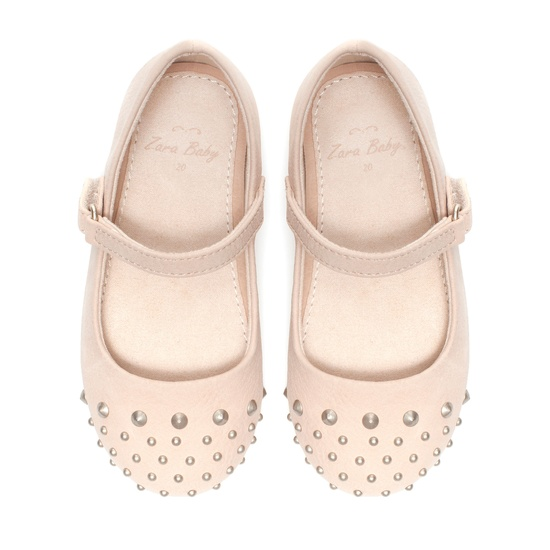 Studded ballerinas - Shoes - Baby girl - Kids - ZARA United Kingdom