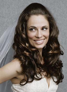my wedding hair - Luxuriously Long Side