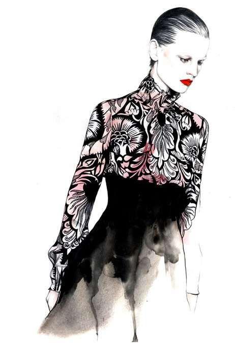 Caroline Andrieu.. www.fashion.net