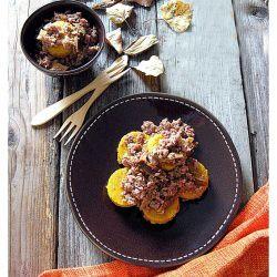 Gnocchi di Zucca con Ragù di Salsiccia e Funghi Porcini  #italianfood #italianrecipes #foodideas #cooking #recipe #foodporn