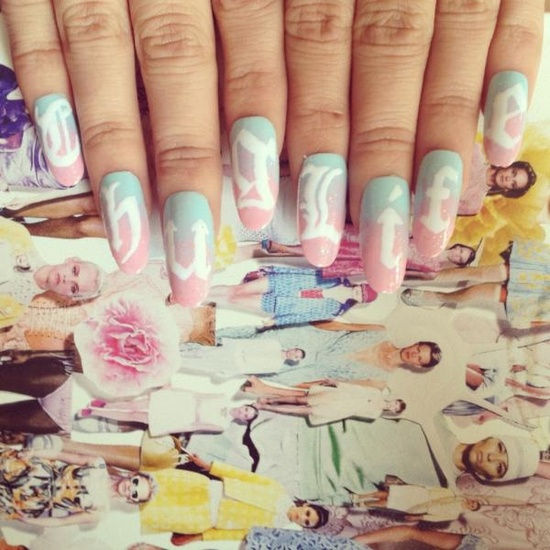Nails by @DIY_Nails     Are your nails more styled than your outfit? Do you have more art on your fingertips than your walls? Is your stash of polish taking over every cupboard in your house? Sounds like you could have an Obsessive Fashion Disorder.     Email us a picture of your nail designs to mailto:OFD@asos.com and the coolest, craziest and most creative pics will be to be diagnosed with OFD will be posted on the ASOS Pinterest.