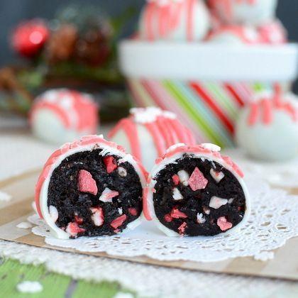 Peppermint Crunch Oreo® Truffles