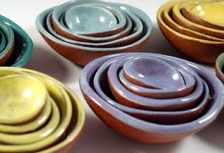 Bitty Bowls handmade pottery