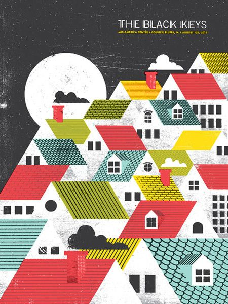 The Black Keys. Sweet graphic design.