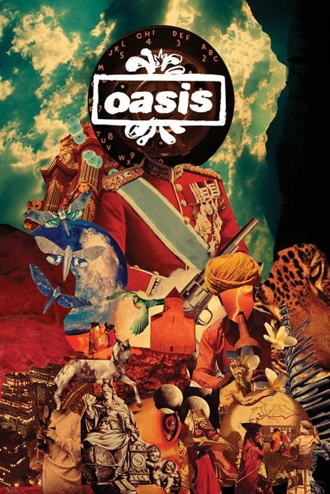 Dig out your soul, Oasis. By Julian House.  (via http://benson--hedges.tumblr.com/)