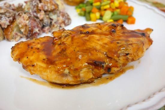 Zesty BBQ Chicken