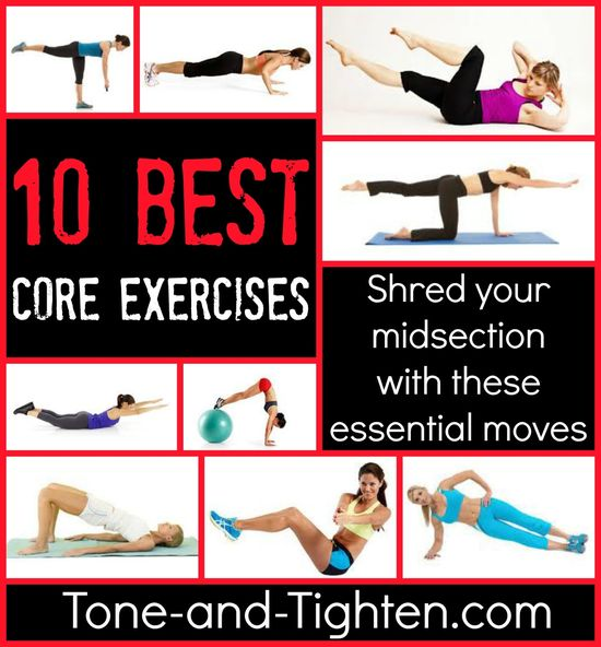 Top 10 Best Core Exercises - How many of them are you doing?