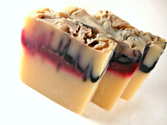 Vampire Soap - Bite Me Soap - Halloween Soap -  Cold Process Soap