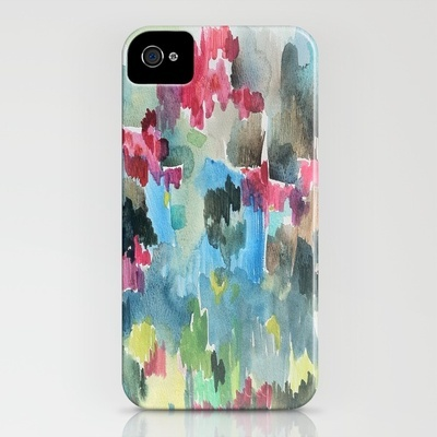"""Bellamy"" watercolor iphone case"