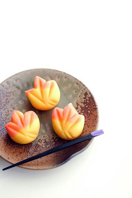 Japanese sweets, wagashi ???