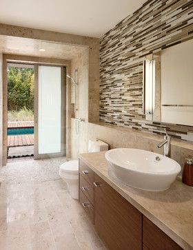 California Sustainable Home - modern - bathroom - santa barbara - Maienza-Wilson Interior Design + Architecture