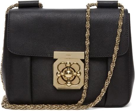 Elsie Small in Black by chloe #Handbag #Chloe