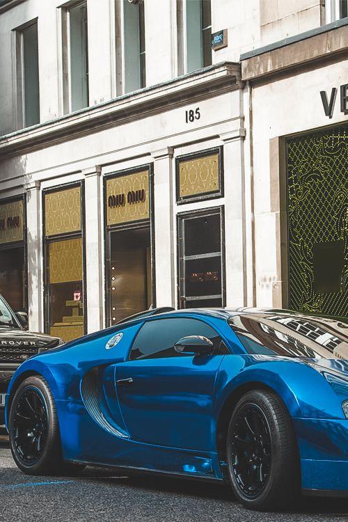Bugatti Blue by Benoit Cars - Imgend