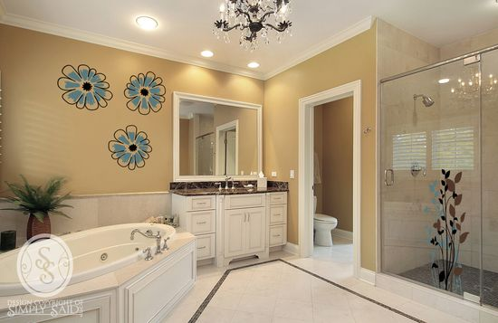 Beautiful Bathroom designs from Simply Said.