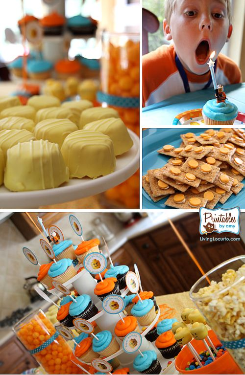 Lego Party food.  ~Mrs.SJC