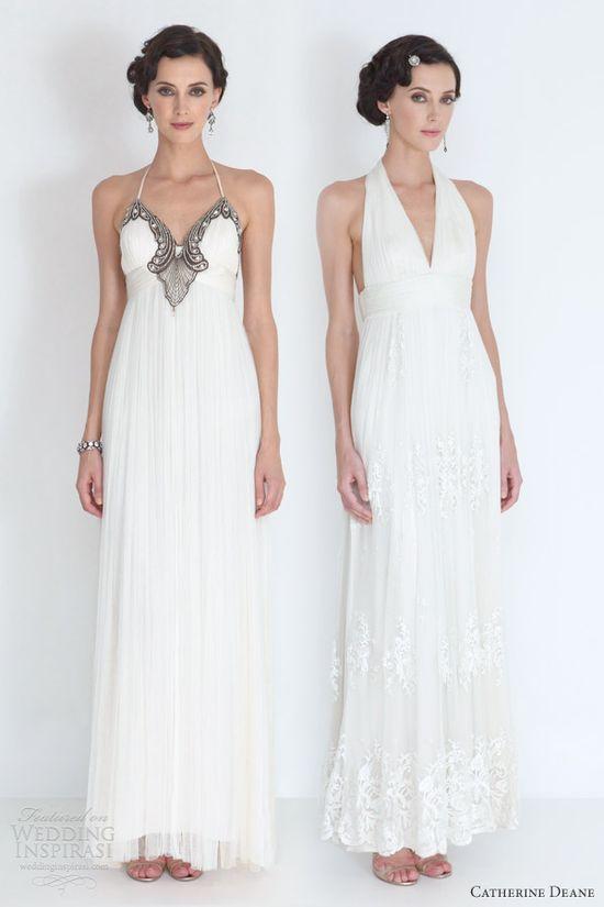catherine deane bridal 2012 denise collette halter neck wedding dresses, bride, bridal, wedding gown, bridal gown, wedding