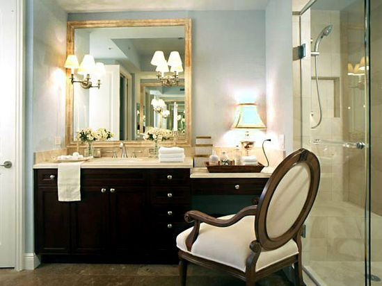 Sconces in the Mirror