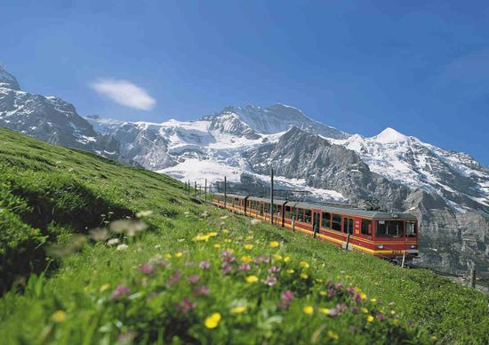 Swiss train rides - oh wow!