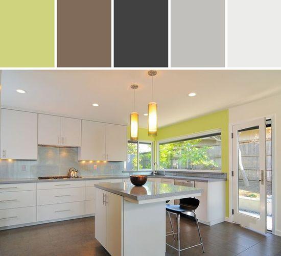 Kerrie Kelly Design Lab Sleek and Modern in Sleek and Modern Kitchen Designed By AllModern via Stylyze