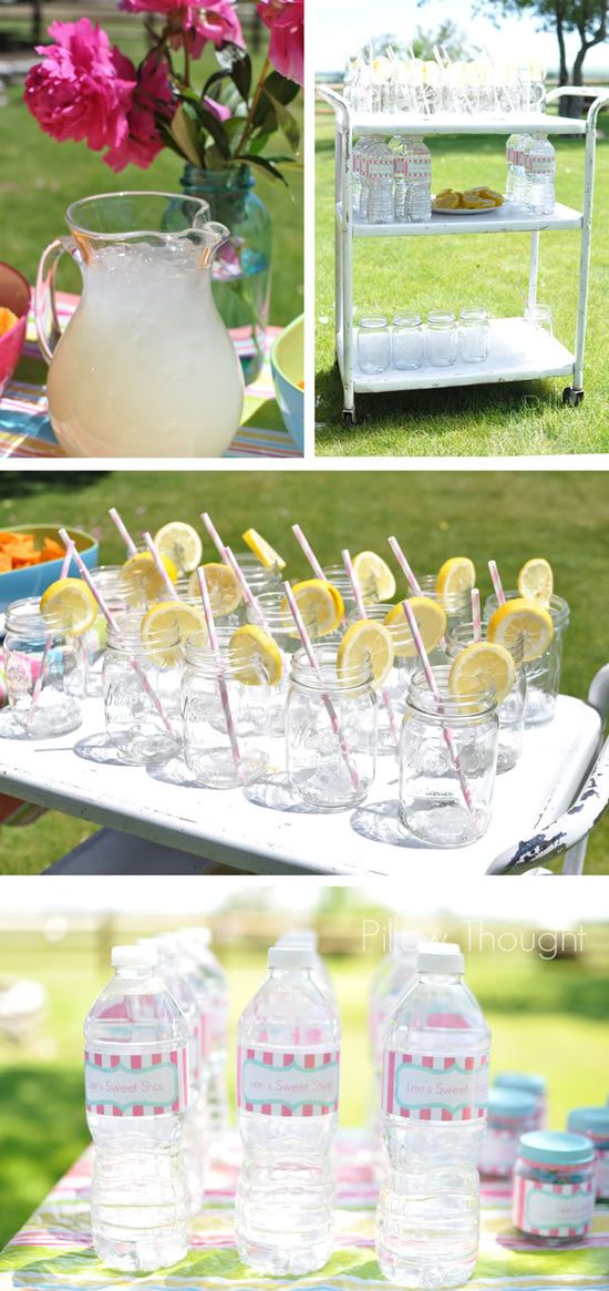 CUTEST first birthday party ideas for a little girl!