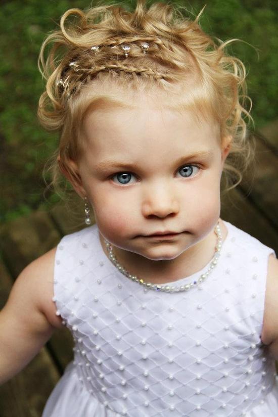 little girl hair!
