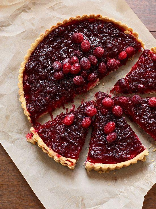 Cranberry tart recipe