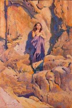 "Saatchi Online Artist Sergio Lopez; Painting, ""Nausicaa's Dream"" #art"