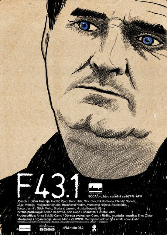 F431 #Movie #Poster by rene foder