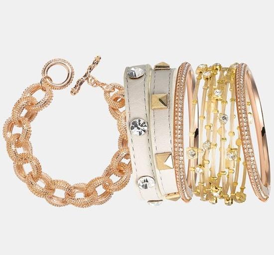 Seasonal Whispers Bangles & Tasha Bracelet ??