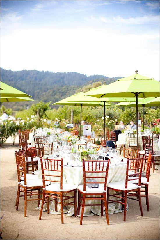 wedding reception at Brix Restaurant and Garden