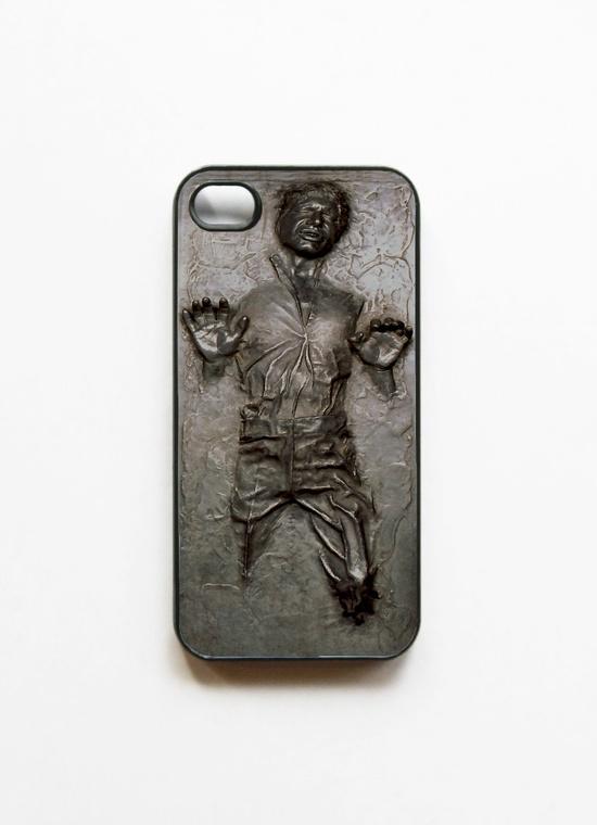 iPhone 4 Case Star Wars Frozen Han Solo Frozen in by mancase, $14.00